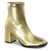 GOGO-150 Gold Faux Leather